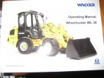 Wacker WL30 Wheel Loader Owners Manual
